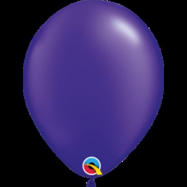 Sötétlila gyöngyházas héliumos lufi