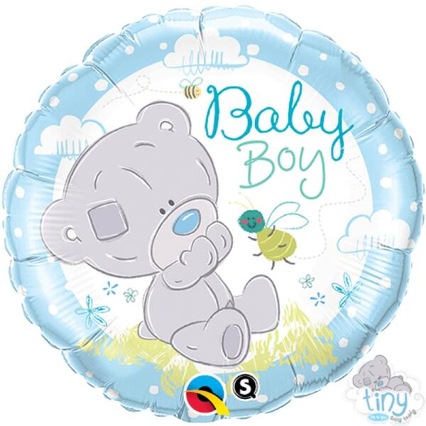 Teddy macis baby boy héliumos lufi