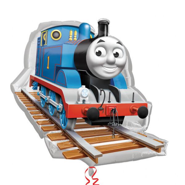 Thomas a gőzmozdony héliumos lufi