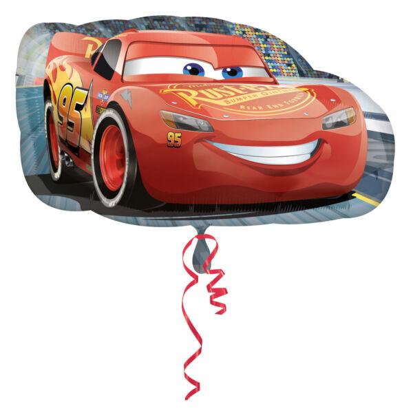 Verdák Villám McQueen héliumos lufi