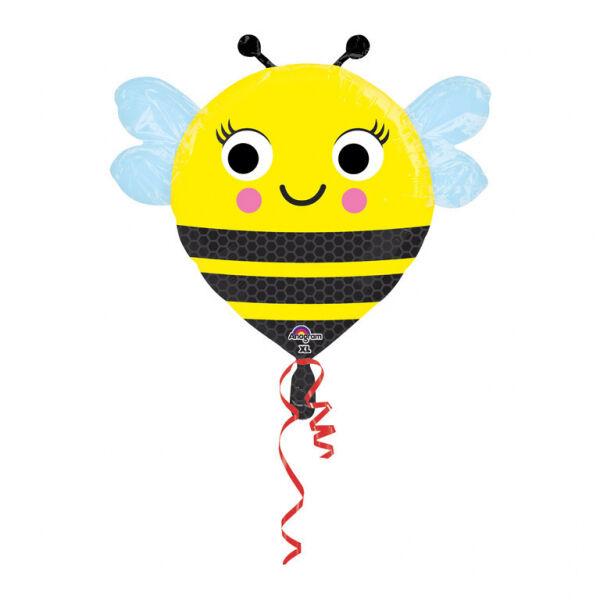 Vidám méhecske héliumos lufi