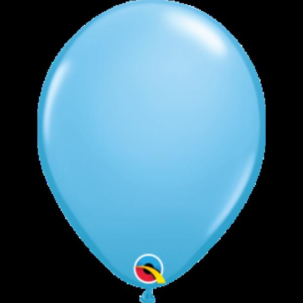 Világoskék héliumos lufi