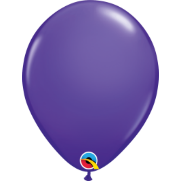 Viola lila héliumos lufi