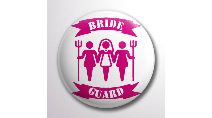 c3221890fc Bride guard kitűző