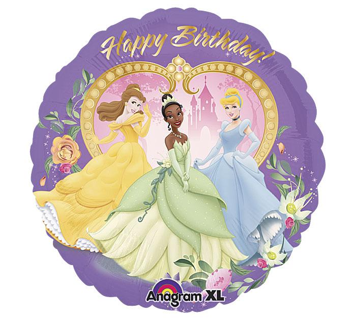 hercegnős szülinapi képeslapok Lila szülinapi hercegnős héliumos lufi, Nicol Party Kellék Bolt hercegnős szülinapi képeslapok